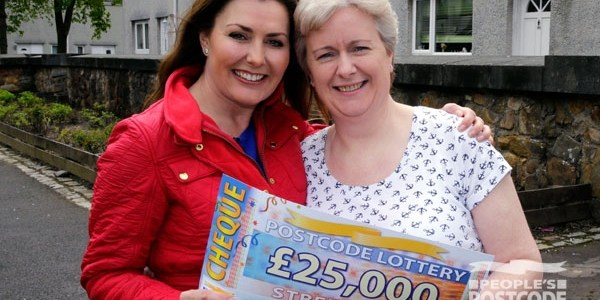 Four players win the People's Postcode lottery in Erskine