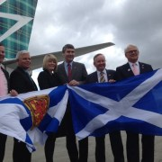 Canadian airline launches first UK route from Glasgow Airport