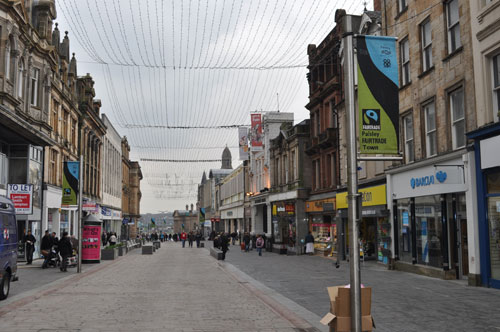 Paisley High Street to open again to traffic this summer