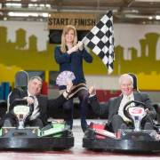 Go-kart staff on fast track to learn sign language