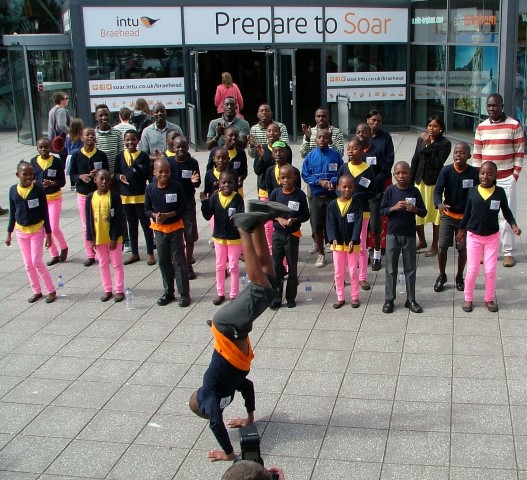 Singing Children of Africa choir @ intu Braehead