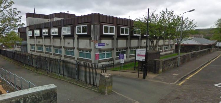 Demolition of old Johnstone Housing and Social Work building to happen in August