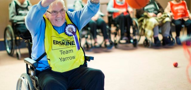 Veterans from all Erskine Care Homes to compete in Sporting Senior Games