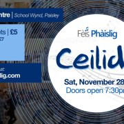 Fèis Phàislig Ceilidh at the Wynd Centre in Paisley