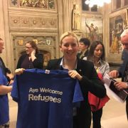 Aye welcome refugees by local MP Mhairi Black