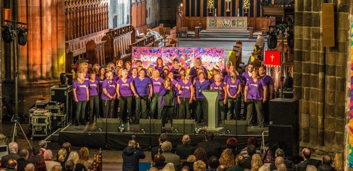 Photos from UK City of Culture 2021 bid at Paisley Abbey