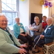 100th Contact the Elderly tea party in Scotland