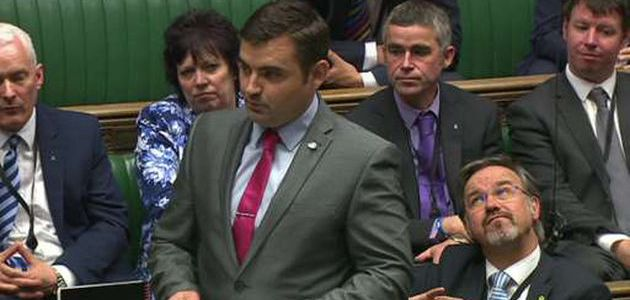 MP Gavin Newlands hits out at 'Westminster power grab'