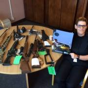 Over 200 Air Weapons Surrendered in Renfrewshire during amnesty