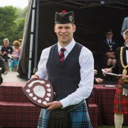 Third place for Johnstone Pipe Band at UK championships