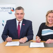 Scotland's largest college in strategic partnership with Renfrewshire