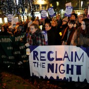 Campaigners Reclaim the Night in Renfrewshire for women's right to be free of violence and abuse