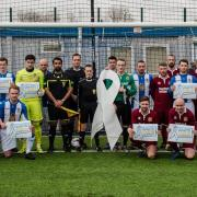 Renfrew Juniors Football Club support The White Ribbon Campaign