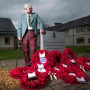 We Shall Remember Them: Scotland's veterans' charity remembers fallen comrades on Armistice Day