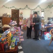 Paisley pensioners bring Christmas cheer to wee ones