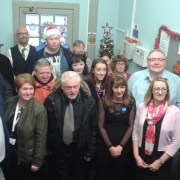 RAMH Renfrewshire Community Service opening with Cllr McMillan