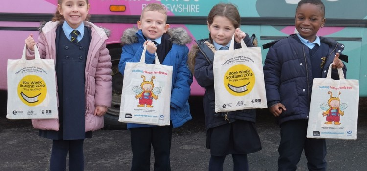 Kids bag themselves some great books