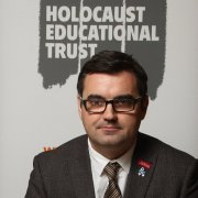 Gavin Newlands MP signs Holocaust Educational Trust Book of Commitment