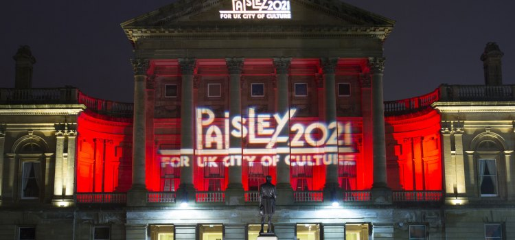 Support pours in as Paisley becomes only Scottish place on UK City of Culture 2021 shortlist