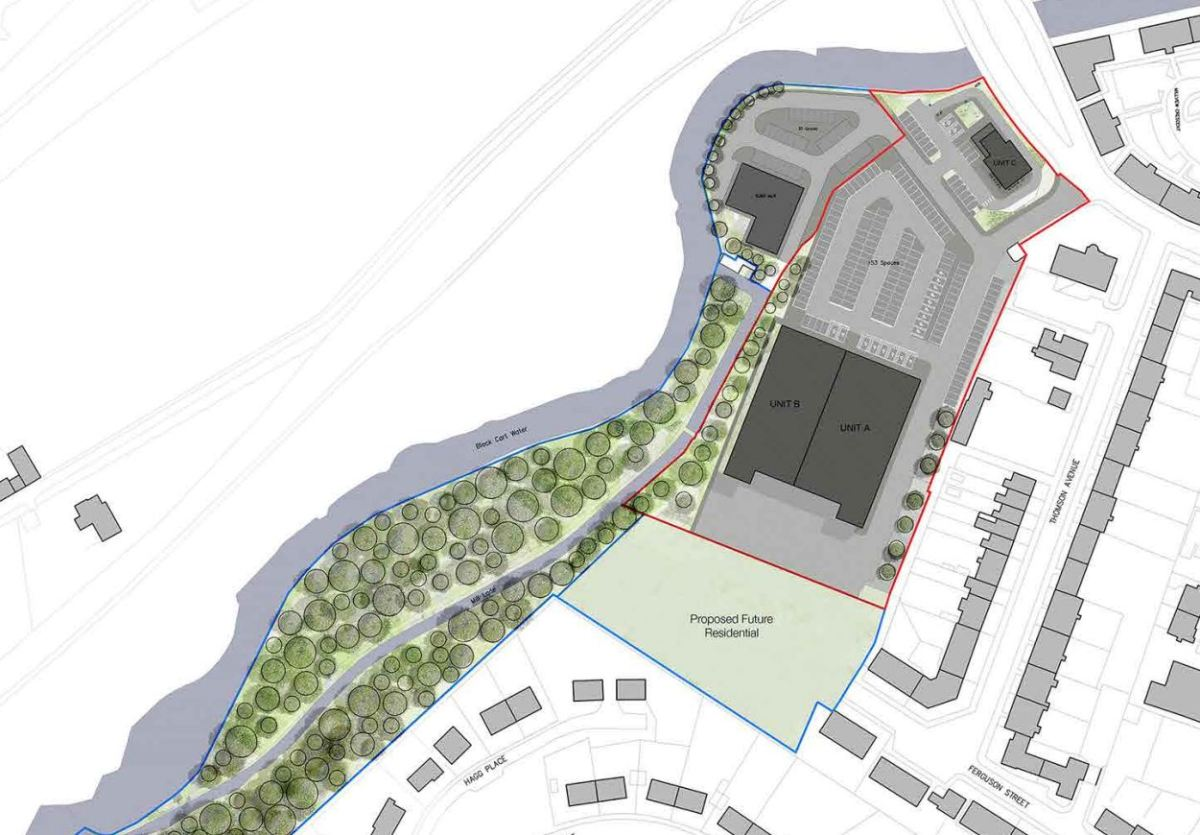 Homes, shops and a restaurant to be built on former Paton's Mill land