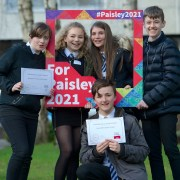 S3 pupils asked to help shape Paisley 2021 bid
