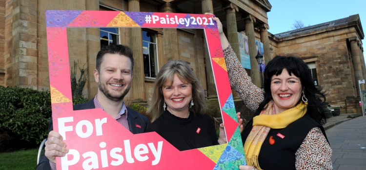 Coats supports Paisley bid to become UK city of Culture 2021