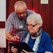 Adult Tablet Classes are a ROARing success