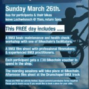 Free Event: BMX Maintenance & Filmshoot – Sunday 26th March.