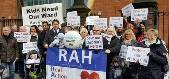 Petition launched to keep RAH ward 15 open