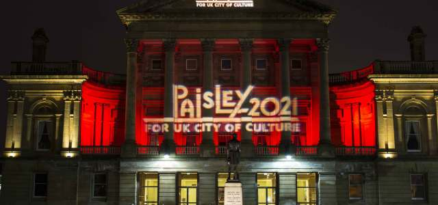 Paisley 2021 team in message for competitors as UK City of Culture bidders revealed