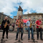 Paisley 2021 bid marked with Baker Street show