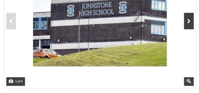 For Sale: Johnstone High School £5 – School listed on Gumtree as part of a prank