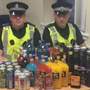 Police seize alcohol during weekend operation clamping down on youth drinking and anti-social behaviour in Paisley