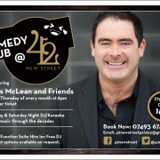 Comedy Club to return to Paisley venue 42 New Street