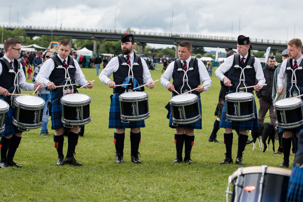 Success for Johnstone Pipe Bands at British Pipe Band Championships in Paisley