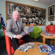 John Grieg Opens Sporting Memories Room in Erskine Home