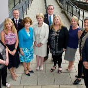 Retiring Headteachers thanked for their service from Renfrewshire Council
