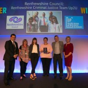 Renfrewshire Council wins top award for domestic abuse work