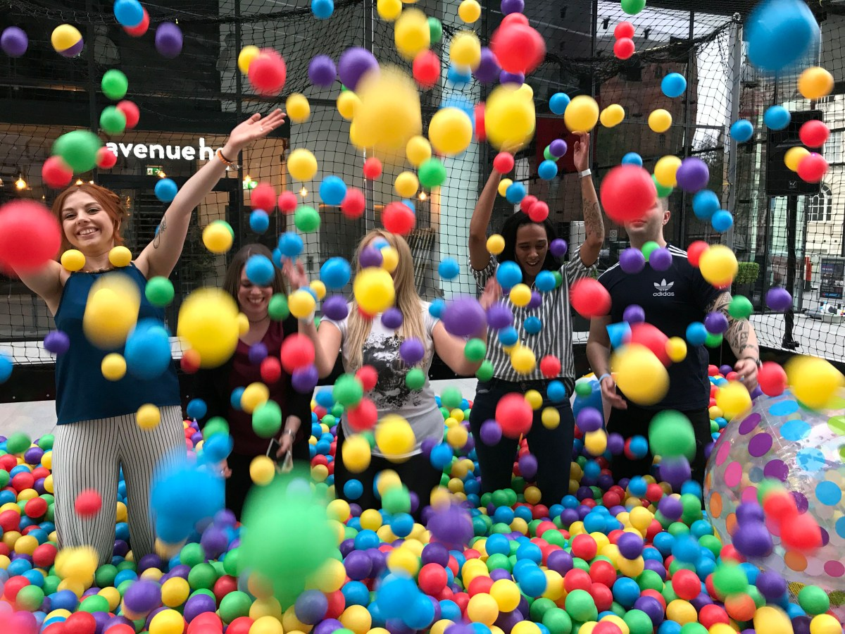 Biggest ball pit in the UK is coming to intu Braehead