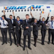 Blue Air's new route to the Romanian city of Iaşi takes off