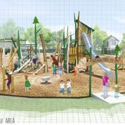 Illustrations reveal new kids play equipment to be installed at Barshaw Park in Paisley and Robertson Park in Renfrew