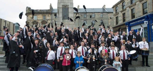Thousands of world's best pipers to descend on Paisley for British Championships