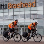 UK first as Scots shopping mall launches bicycle patrols