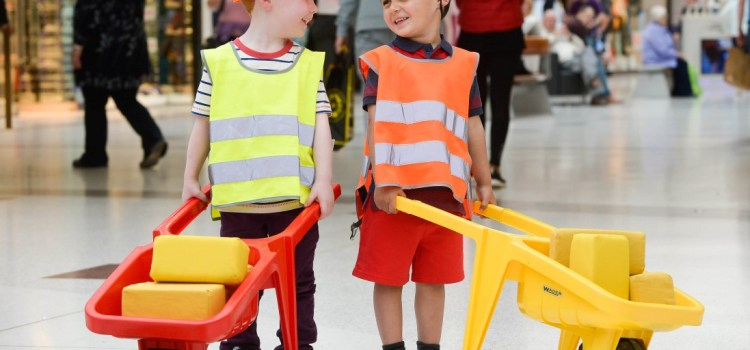 Kids are grown-ups for the day at intu Braehead Mini City