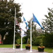 Renfrewshire Council flags flown at half mast as mark of respect to the people of Barcelona
