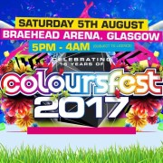 Police warn of robust body, bag and dog searches at Braehead Arena for Coloursfest