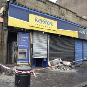 Fire service attend blaze at Johnstone Key Store