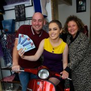 Scooter prize is the big draw for charity fundraiser