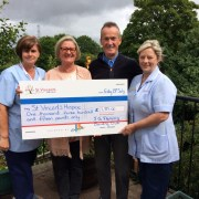 St Vincent's Hospice bowled over by Bowling Club fundraiser