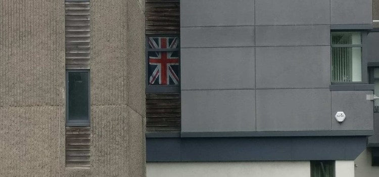 SNP councillor blasts Renfrewshire Labour for hanging Union Jack from office window